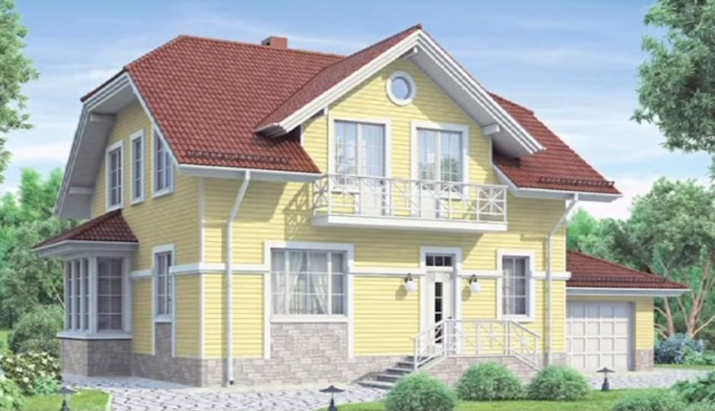 Отделка дома фиброцементными фасадными панелями