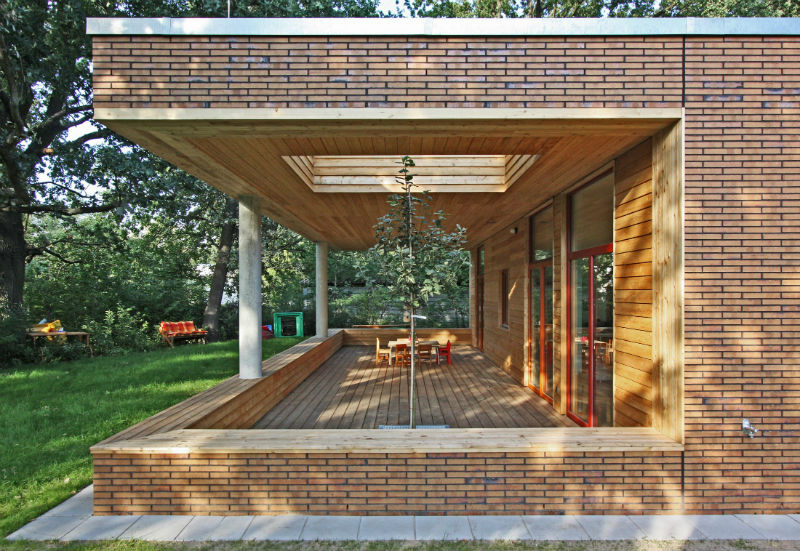 Монтаж клинкерной плитки для фасадов