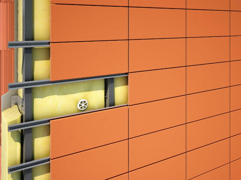 Система навесного вентилируемого фасада