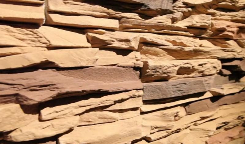 Облицовка фундамента и цоколя искусственным камнем