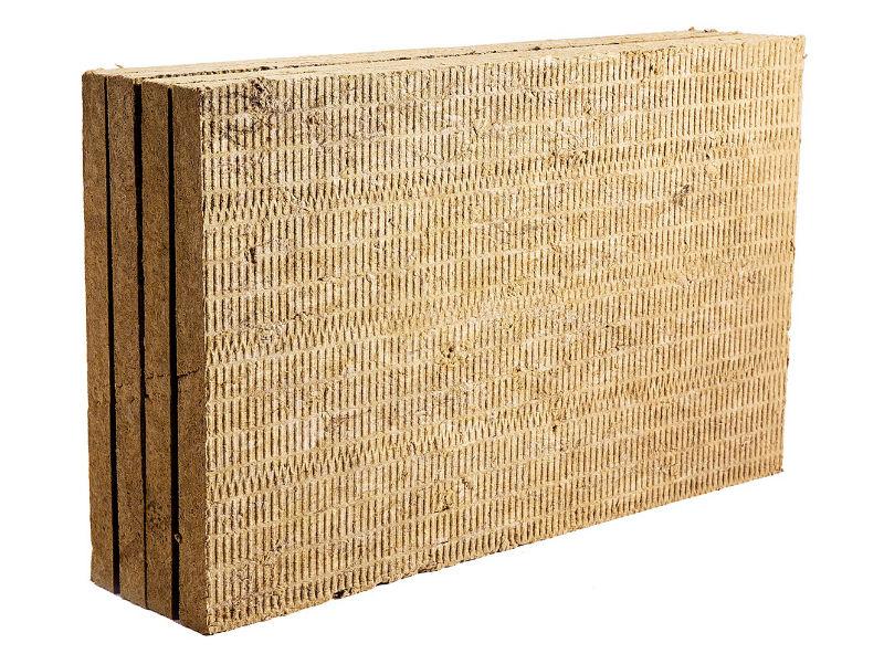 Теплоизоляционные плиты из каменной ваты Rockwool Рокфасад — для утепления фасадов с тонким штукатурным слоем
