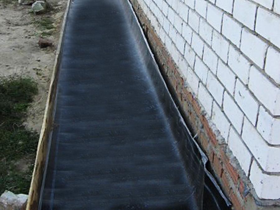 Использование рулонных гидроизоляционных материалов