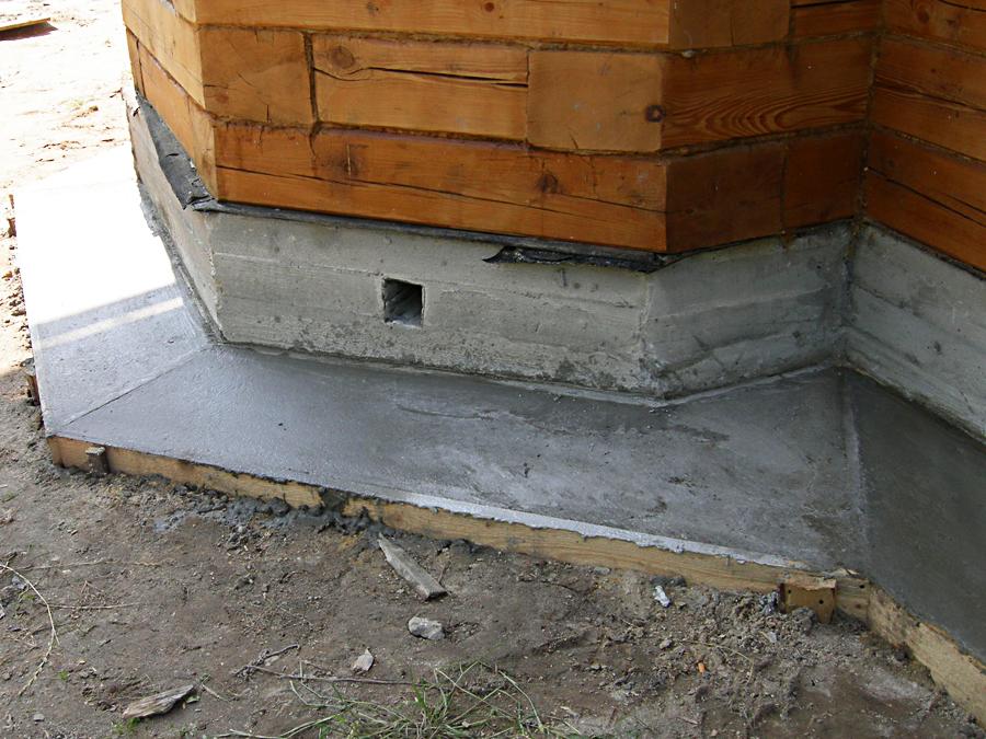 Фото отмостки из бетона