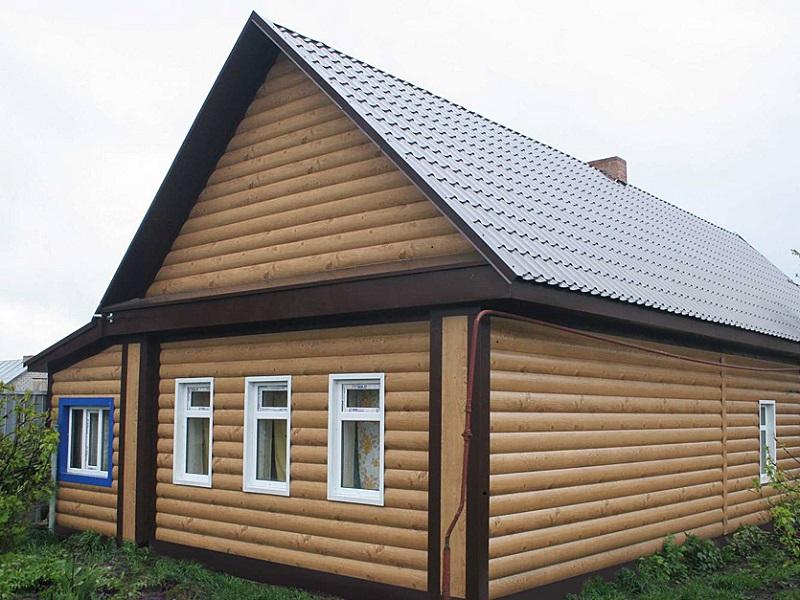 Сайдинг - идеальная отделка для деревянного строения