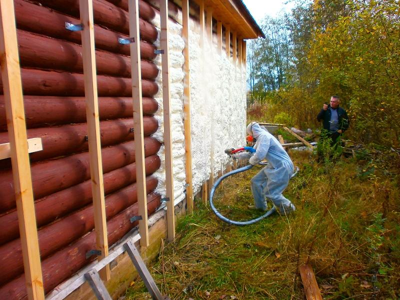 Утепление брусового деревянного дома под сайдинг: технологические особенности
