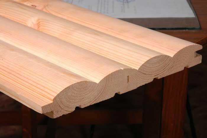 Деревянный блокхаус