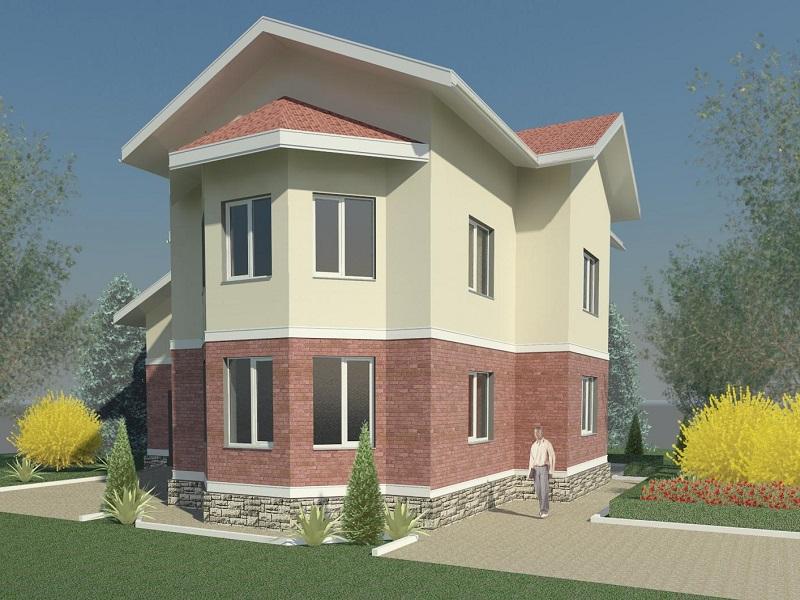 Фасад дома - пример