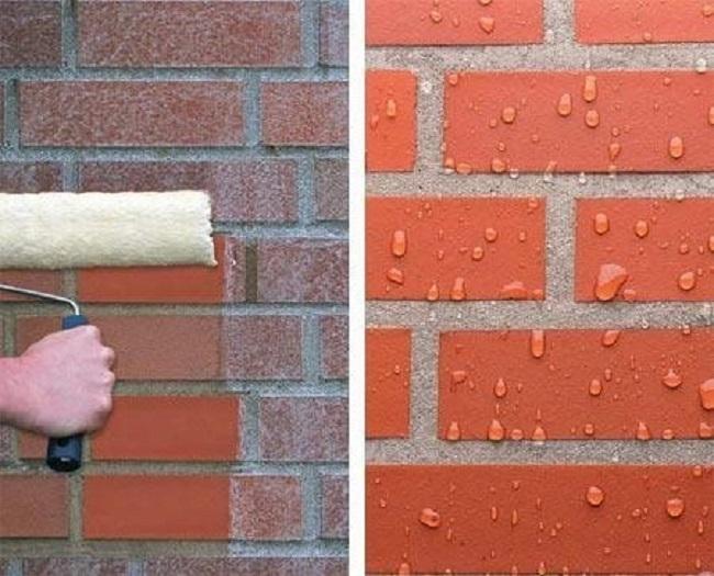 Гидрофобизация: до и после