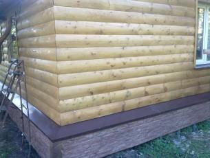 Чем обшить деревянный дом своими руками 820