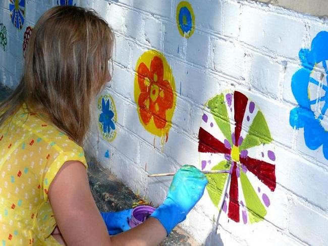 Фасад для детского праздника
