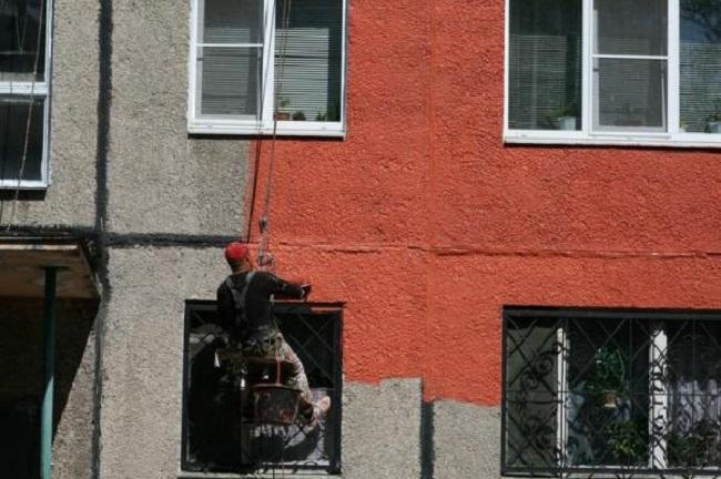 Краска дя бетонных фасадов