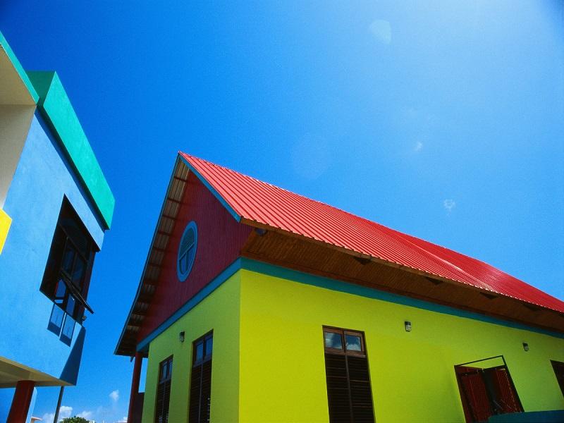 Окраска фасадов: выбираем фасадную краску
