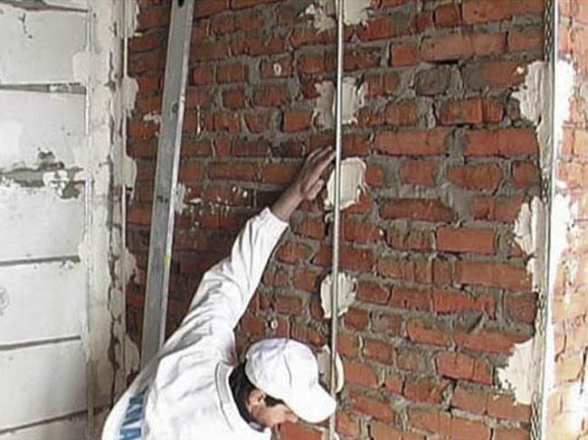 Как сделать штукатурку стен по маякам
