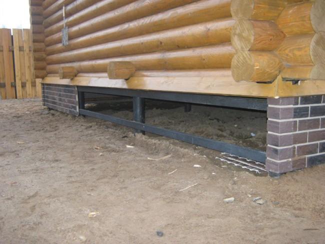 Свайный фундамент для деревянного дома своими руками