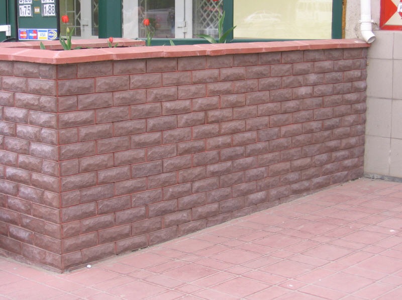 Фасад облицованный плиткой