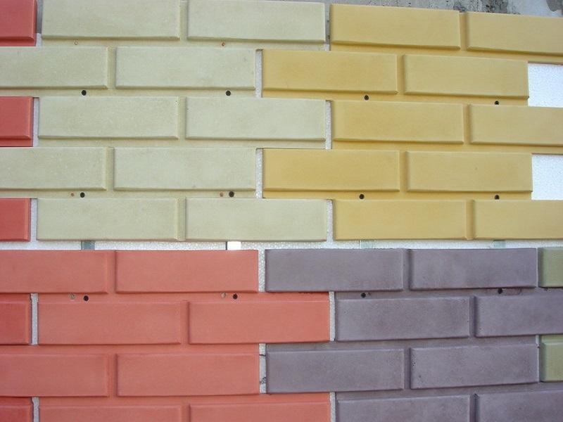Бетонная плитка фасадная: укладка и облицовка здания