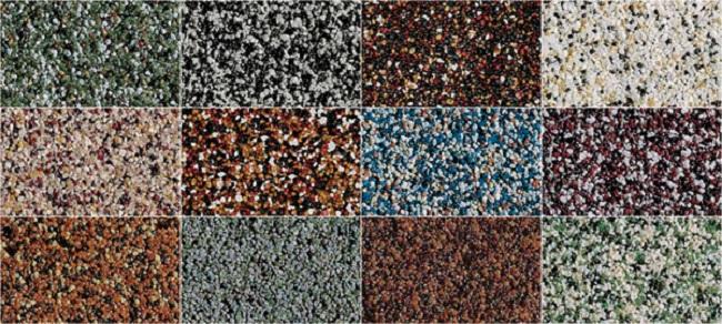 Для фасадной штукатурки существует масса минеральных  добавок