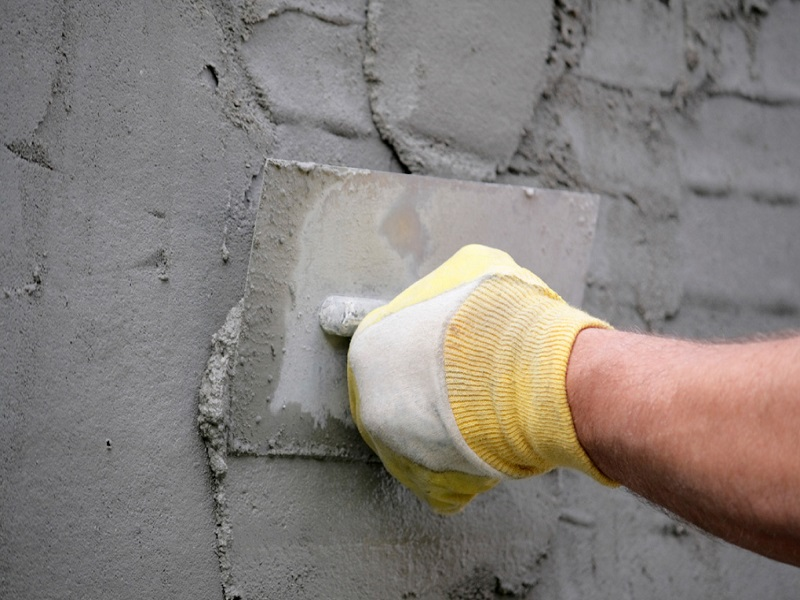 Цементно-фасадная штукатурка - классический вариант фасадной отделки