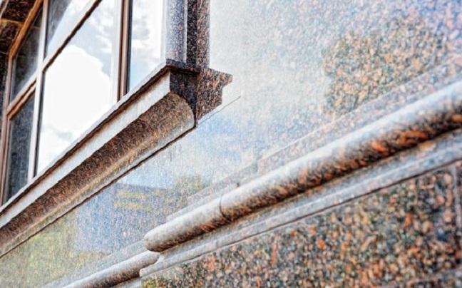 Натуральный гранит для фасада