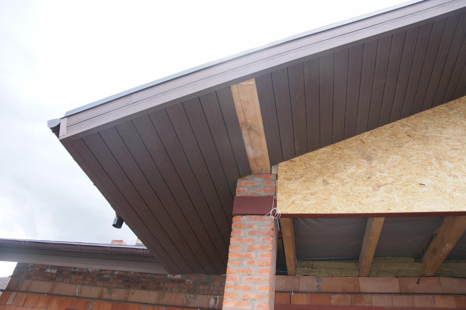 Монтаж деревянной фасадной доски