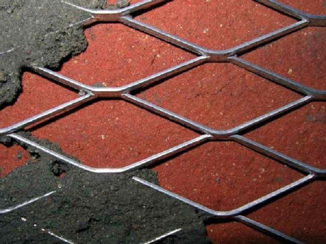 Оцинкованная фасадная армирующая сетка