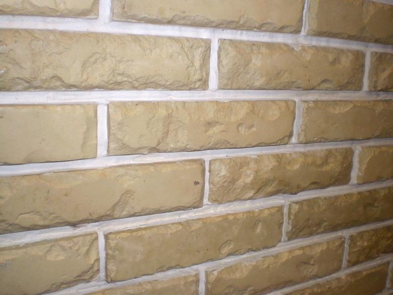 Имитация камня из фасадного пенопласта