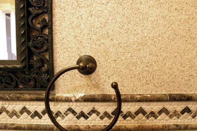 Фасадная штукатурка мраморная крошка - известна в нашей стране очень давно