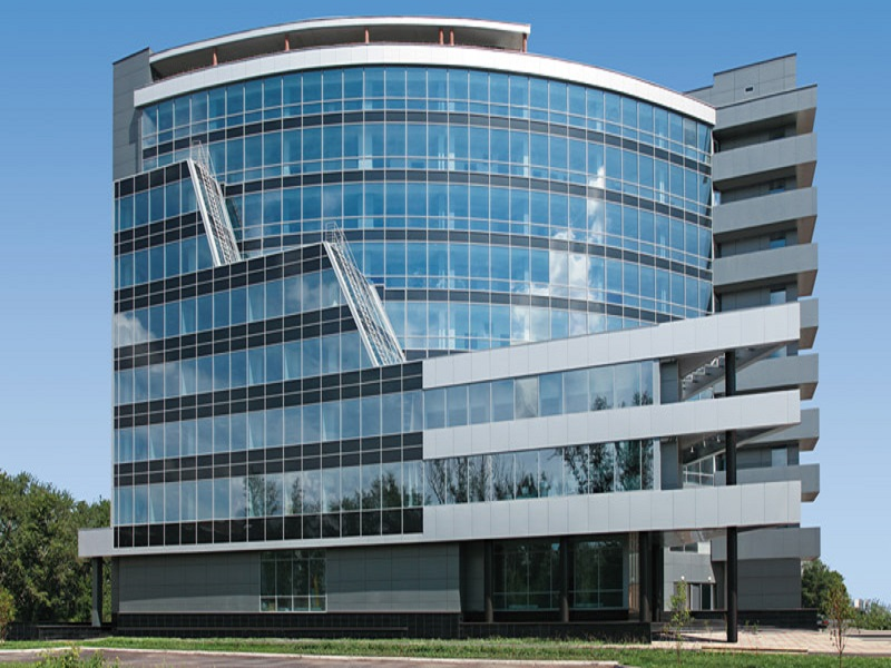 Остекление - универсальная фасадная технология