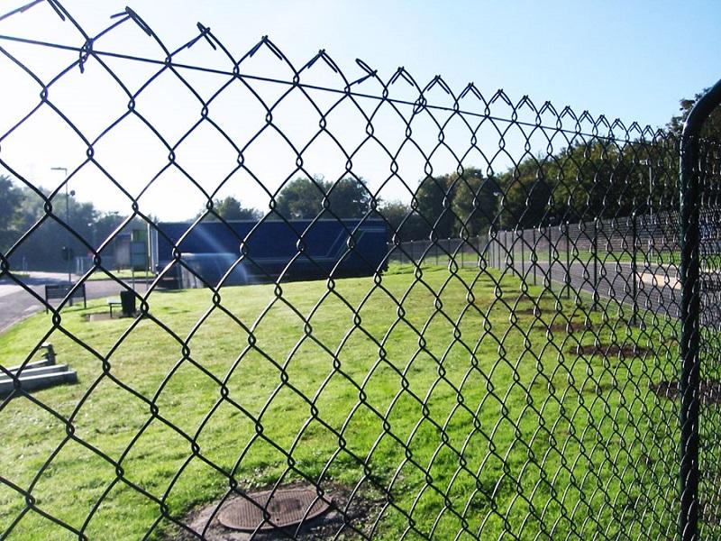 забор из сетки рабицы своими руками пошаговая инструкция