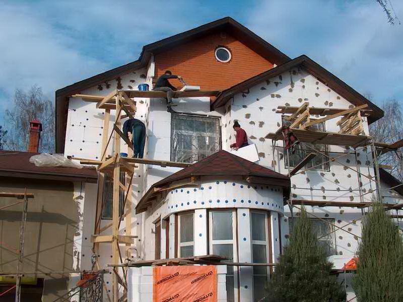 Сложный фасад требует особого подхода к теплоизоляции