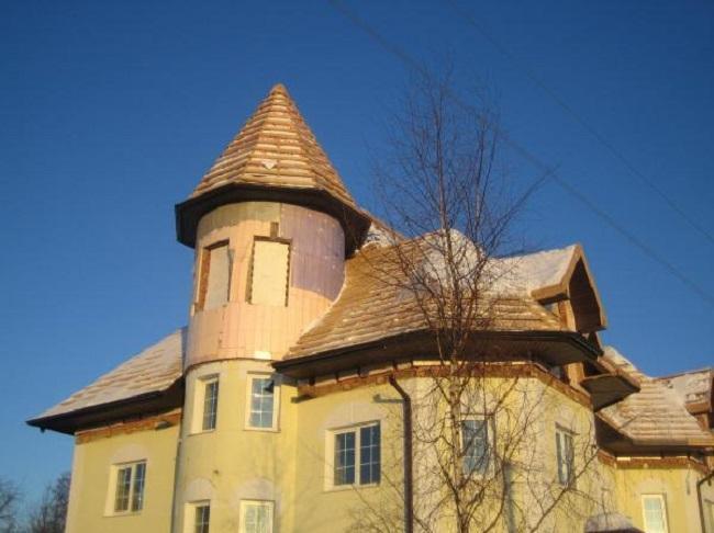 Утепление башни минеральной ватой
