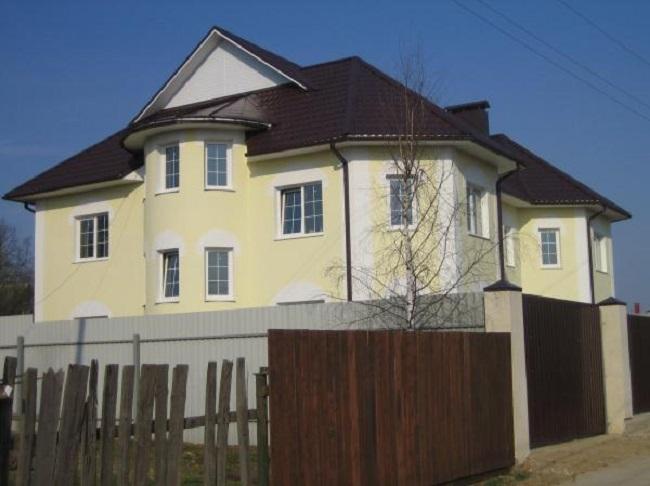 Штукатурная фасадная конструкция с утеплением из пенополистирола