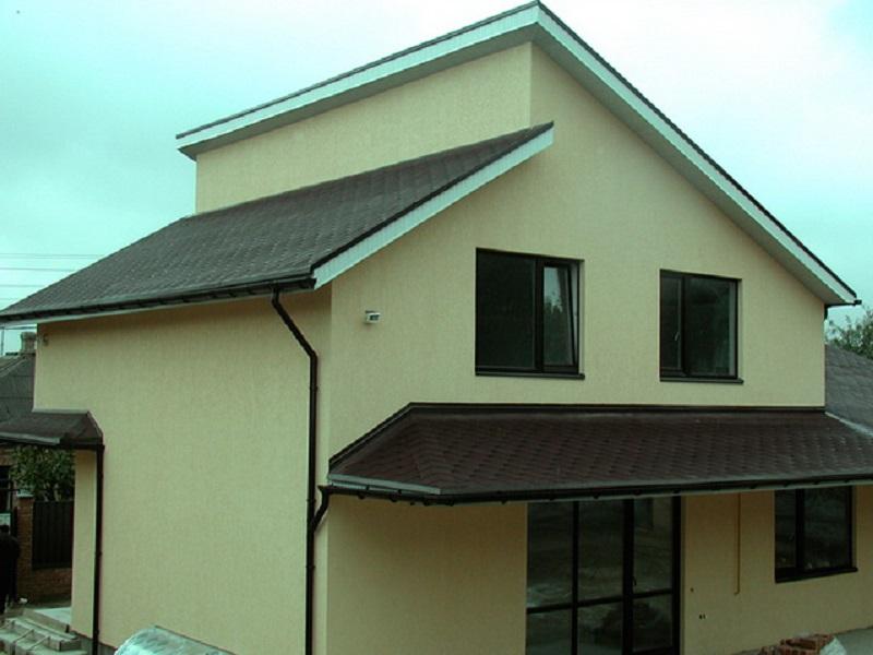 Как построить односкатную крышу: устройство и угол наклона
