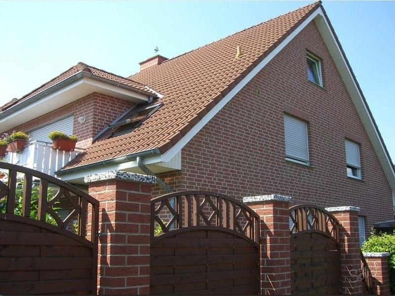 Вариант двускатной крыши