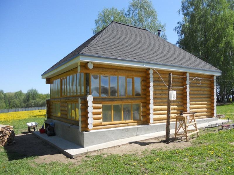 Вальмовая крыша для дачи