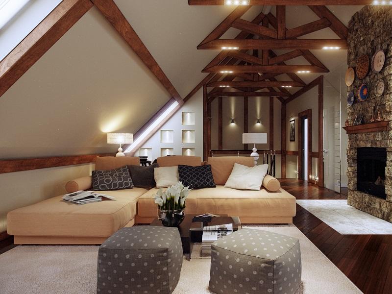 Мансардная крыша: конструкция и чертежи