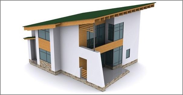 От угла наколона зависит функциональность крыши