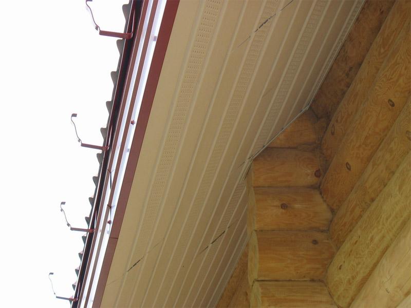 Подшивка карнизов крыши своими руками: чем и как обшить