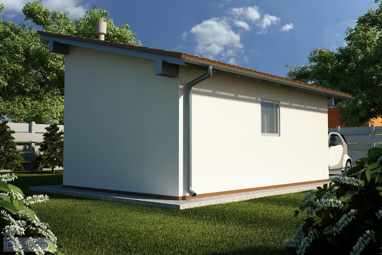 Правильно сделанная односкатная крыша