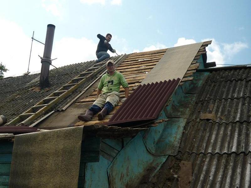 Ремонты крыши