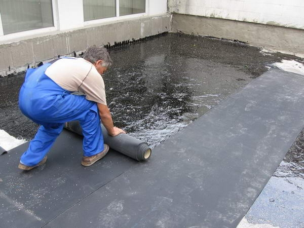 Рубероид для плоской крыши