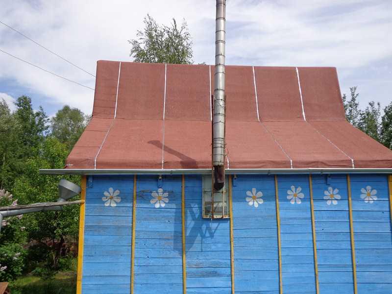 Как стелить рубероид на крышу: технология монтажа