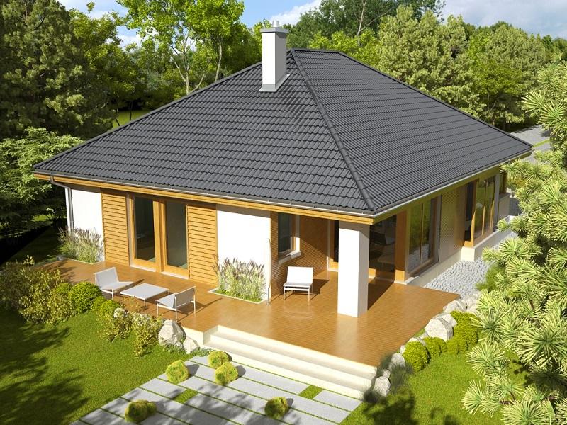 Шатровая крыша: конструкция стропильной системы и выбор материалов