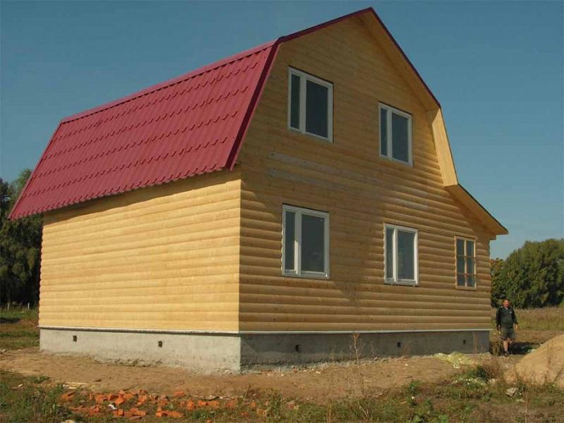 Стропильная система ломаной крыши: схема и чертежи