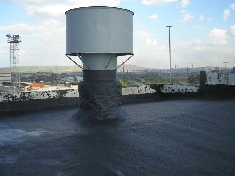 Жидкая резина для плоской крыши