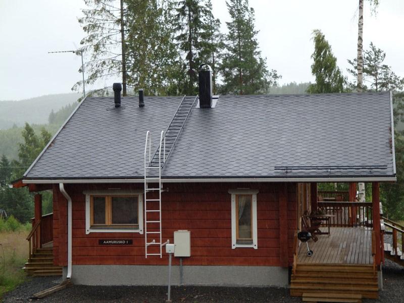 Как сделать лестницу для работы на крыше