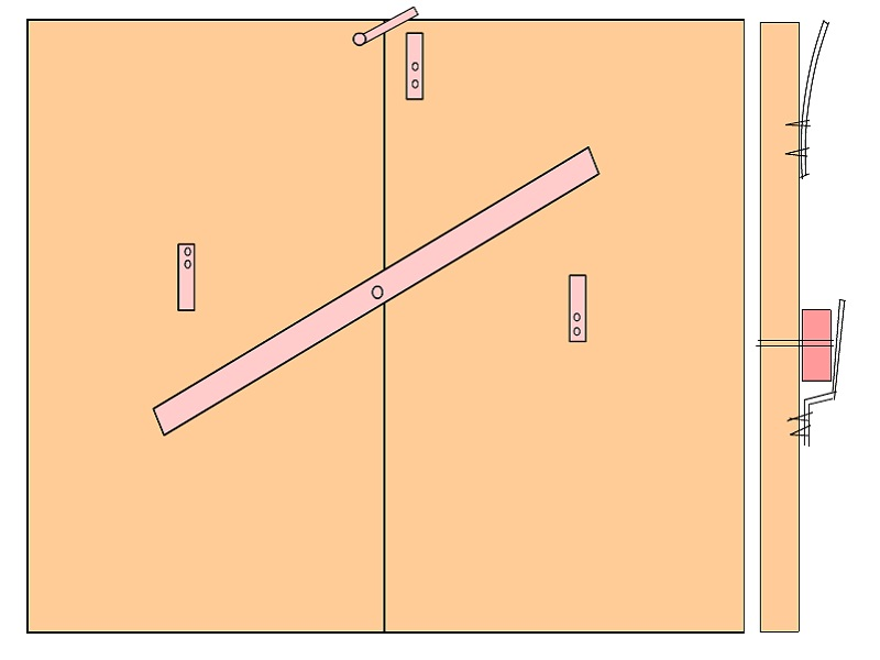 Как сделать защелку или запор на калитку своими руками