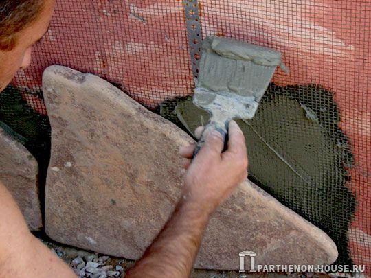 Укладка камня