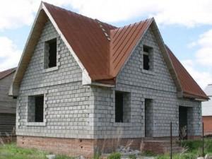 Дом из газобетона - может возводиться на любом фундаменте
