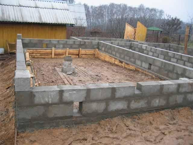 Фундамент - основа, от которой зависит прочность всей конструкции